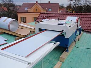 Profilování přímo na střeše