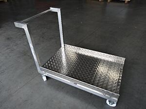 Ložné plochy vozíků